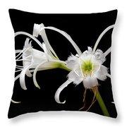 Peruvian Daffodils Throw Pillow