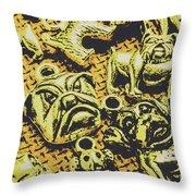 Pet Pendant Dogs Throw Pillow