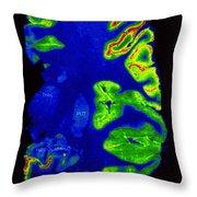 Pet Scan, Healthy Brain Throw Pillow