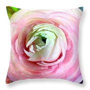 Flower, Petal Labyrinth Throw Pillow