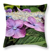 Petal Paddy Throw Pillow
