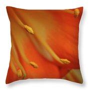Petal Pusher Throw Pillow