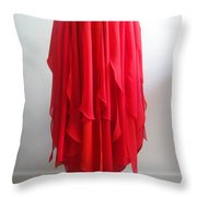 Petal Skirt - Ameynra Fashion 2016 Throw Pillow