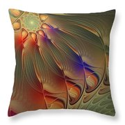 Petalia Throw Pillow