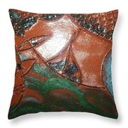 Petals - Tile Throw Pillow