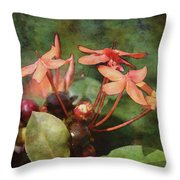 Petals And Berries 8618 Idp_2 Throw Pillow