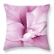 Petals In Pink Throw Pillow