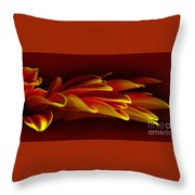 Petals Like Fingertips By Kaye Menner Throw Pillow