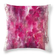 Petals In The Night Throw Pillow