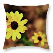 Petals Stretched Throw Pillow