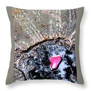 Petalscape Throw Pillow