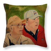 Pete And Perry Dye Throw Pillow