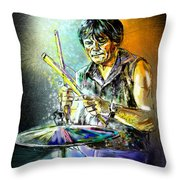 Pete Phipps Throw Pillow