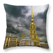 Peter And Paul Fortress Throw Pillow