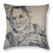 Peter Falk Throw Pillow