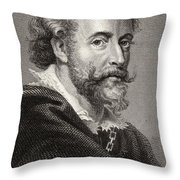 Peter Paul Rubens, 1577-1640. Flemish Throw Pillow