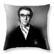Peter Sellers By John Springfield Throw Pillow
