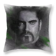 Peter Steele, Type O Negative Throw Pillow