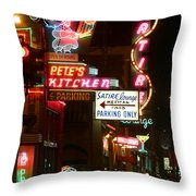 Pete's Kitchen Throw Pillow