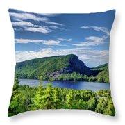 Petit Lac Ha Ha Throw Pillow