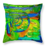 Petit Tourbillon Turn Around Throw Pillow