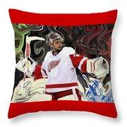 Petr Mrazek Throw Pillow