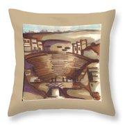 Petra 01 Throw Pillow