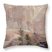 Petra Throw Pillow by Guido Borelli