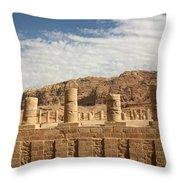 Petra Sky Throw Pillow