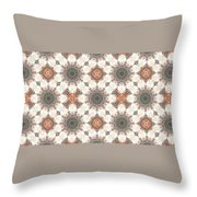 Petrified Folk Tapestry Throw Pillow