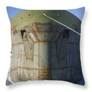 Petrochem Supplier Hull Throw Pillow