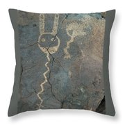 Petroglyph Series 1 Throw Pillow