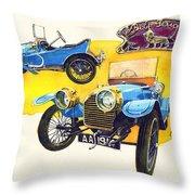 Peugeot Bebe Throw Pillow