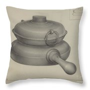 Pewter Pan Throw Pillow