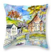 Peyrehorade 01 Throw Pillow