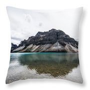 Peyto Lake Alberta Throw Pillow by Adnan Bhatti