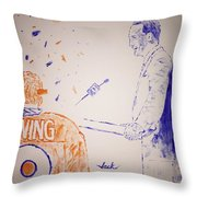 Peyton Manning Throw Pillow