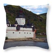 Pfalz Castle Throw Pillow