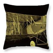 Pfalz D.xii Fighter Throw Pillow