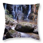 Pha Sua Waterfall Throw Pillow