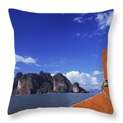 Phagna Bay Throw Pillow
