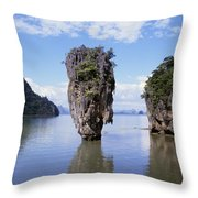 Phangna Bay Throw Pillow