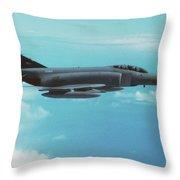 Phantom Fgr.2 / Xv404 Throw Pillow