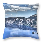 Phantom Ship Throw Pillow