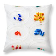 Pharmaceutical Research Throw Pillow