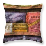 Pharmacist - Assorted Cures Throw Pillow