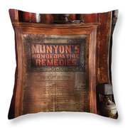 Pharmacist - Price List For All Cures  Throw Pillow