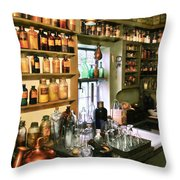 Pharmacist - Pharmacists Drugs Throw Pillow by Mike Savad