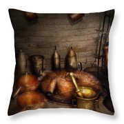Pharmacy - Alchemist's Kitchen Throw Pillow