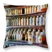Pharmacy - Pick And Elixir Throw Pillow